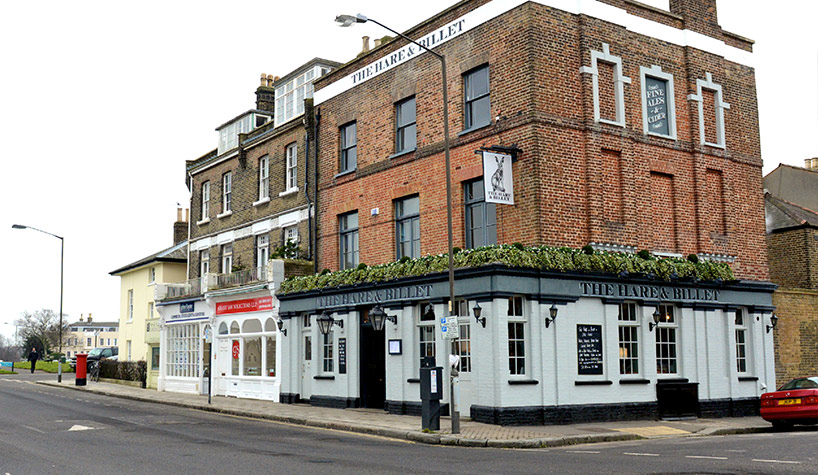 Hare and Billet, Blackheath
